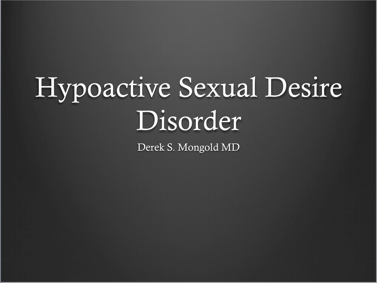 Sexual Disorders Dsm Iv Tr