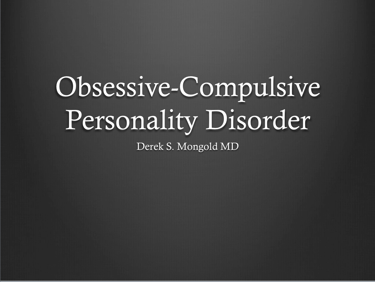 an introduction to the issue of obsessive compulsive disorder ocd Obsessive-compulsive disorder and dual diagnosis october 4, 2010 eating disorders many individuals who have obsessive compulsive traits and obsessive-compulsive disorder are also dually diagnosed.