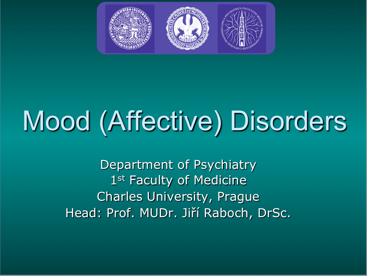 psychiatry lectures